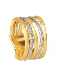 Marco Bicego Damenring mit Diamanten Gold 18 Karat Jaipur Link Gold-Ring AB479-B | Schmuck Sale | Uhren-Lounge