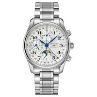 Longines Master Collection Mondphase Chronograph Herrenuhr Automatik 40mm Edelstahl L2.673.4.78.6
