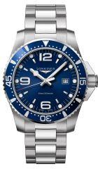 Longines HydroConquest 44mm Quarz blau L3.840.4.96.6 Herrenuhr Taucheruhr