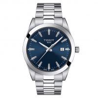 Tissot Gentleman Blau Edelstahl-Armband Quarz Herrenuhr 40mm T127.410.11.041.00 | Uhren-Lounge