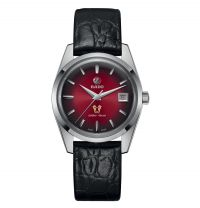 Rado Golden Horse Limited Edition Automatic mit rotem Zifferblatt & Leder-Armband Tradition R33930355 | Uhren-Lounge