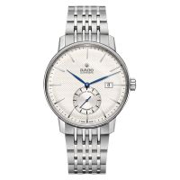 Rado Coupole Classic Chronometer COSC Petite Seconde Silber Weiß Edelstahl-Armband R22880013
