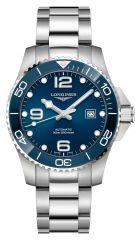 Longines HydroConquest Automatik 43mm Blau Edelstahl-Armband Taucheruhr L3.782.4.96.6
