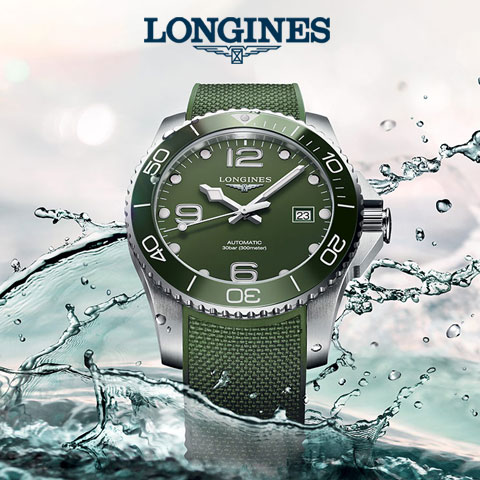 Longines HydroConquest Taucheruhren