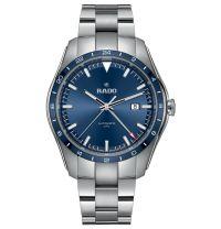 Rado HyperChrome Automatic UTC Limited Edition 44mm Blau Edelstahl-Armband Herrenuhr R32050203 | Uhren-Lounge