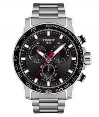Tissot Supersport Chrono Schwarz Edelstahl-Armband Chronograph 45mm Quarz T125.617.11.051.00