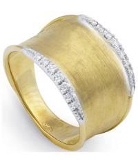 Marco Bicego Ring Gold mit Diamanten Lunaria Diamantring AB550-B | Schmuck Sale | Uhren-Lounge