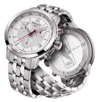 Tissot NBA Special Edition PRC 200 Herrenuhr Silber Edelstahl-Armband Quarz T055.417.11.017.01 | Uhren-Lounge
