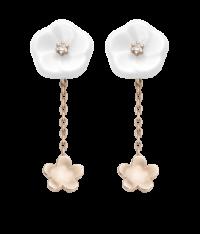1739 Royal Blossom Ohrringe 2 Blüten MPJ55BL18600