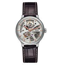 Rado Centrix Automatic Open Heart L Herren Skelettuhr 38mm Leder-Armband R30179105 | Uhren-Lounge