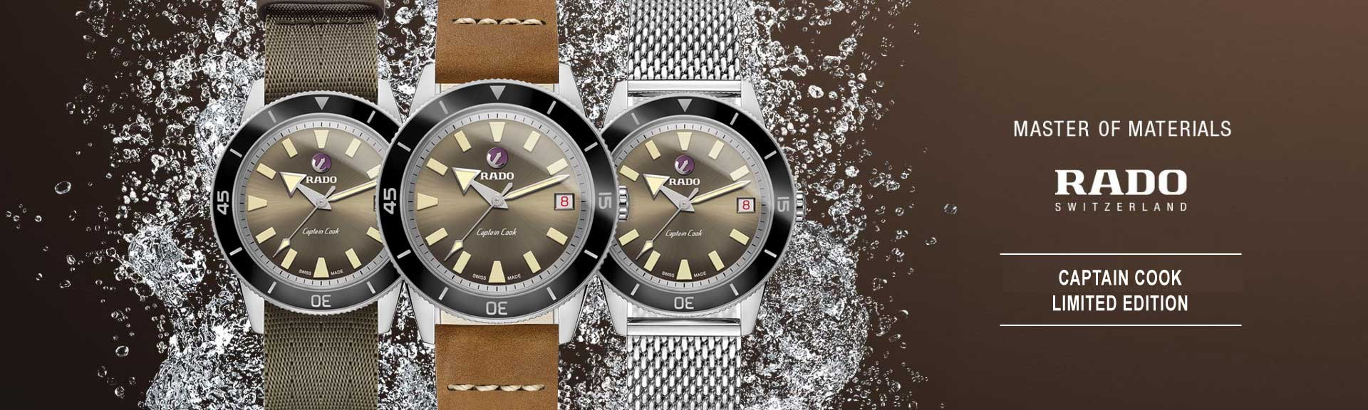 Rado Captain Cook Limited Edition Uhr Herren Automatik