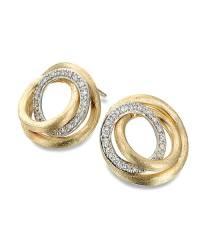Marco Bicego Ohrstecker Gold mit Diamanten Jaipur Link Ohrringe OB1007-B | Schmuck Sale | Uhren-Lounge