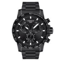Tissot Supersport Chrono Schwarz Edelstahl-Band 45mm Quarz Herrenuhr Chronograph T125.617.33.051.00