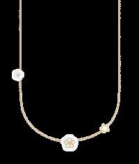 1739 Royal Blossom Collier 3 Blüten (MPJ20BL359C45)
