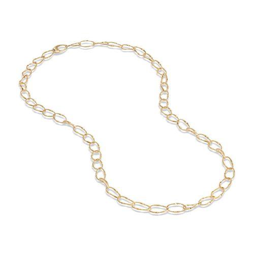 Marco Bicego Marrakech Onde Halskette Gold 18 Karat mit großen Gliedern CG779