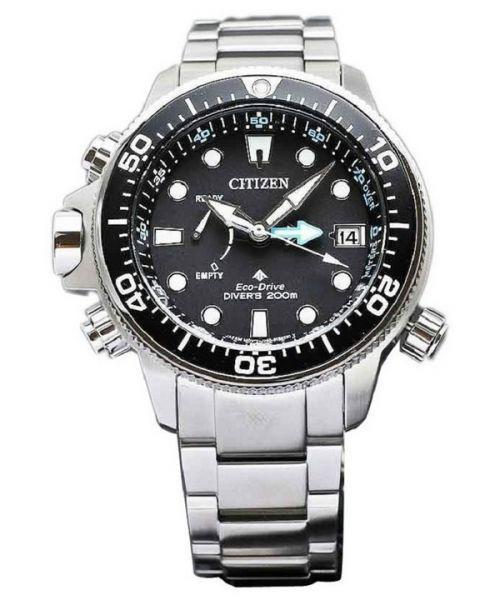 Citizen Promaster Marine Aqualand Eco Drive Uhr Herren Chronograph Taucheruhr BN2031-85E Taucheruhr
