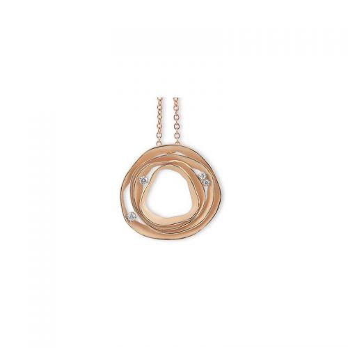 Annamaria Cammilli Dune Halskette Gold Diamanten GPE0857J