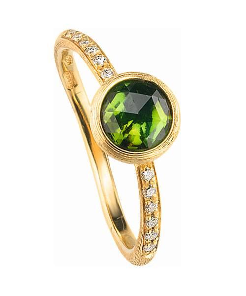 Marco Bicego Damenring grün Gold mit Diamanten und Turmalin AB471-B-TV01
