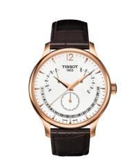 Tissot Tradition Herrenuhr roségoldfarben mit Ewiger Kalender T063.637.36.037.00
