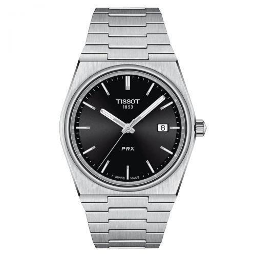 Tissot PRX 40 205 Herrenuhr Schwarz Edelstahl-Armband Quarz 40mm 2021 T137.410.11.051.00