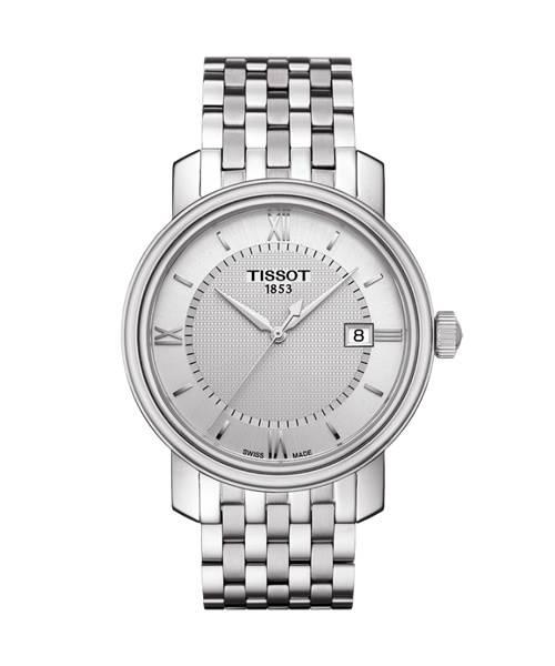Tissot Bridgeport Herrenuhr 40mm Quarz silber Edelstahl-Armband T097.410.11.038.00
