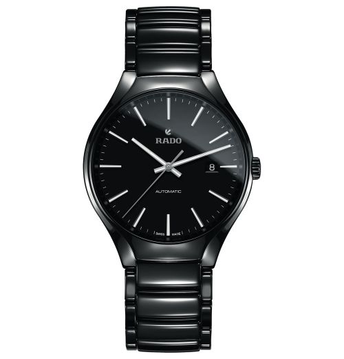 Rado True Automatic L Herrenuhr 40mm Schwarz Keramik-Armband R27056152 | Uhren-Lounge