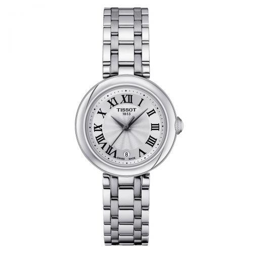 Tissot Bellissima Small Lady Damenuhr 26mm Silbern Edelstahl-Armband Quarz T126.010.11.013.00