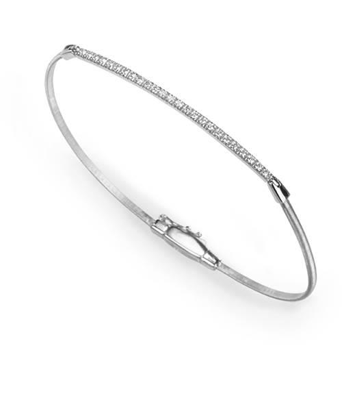 Marco Bicego Goa Armband Weißgold Diamanten BG616 B4