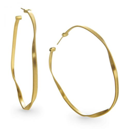 Marco Bicego Marrakech Creolen Gold 18 Karat Ohrringe OG257 Y