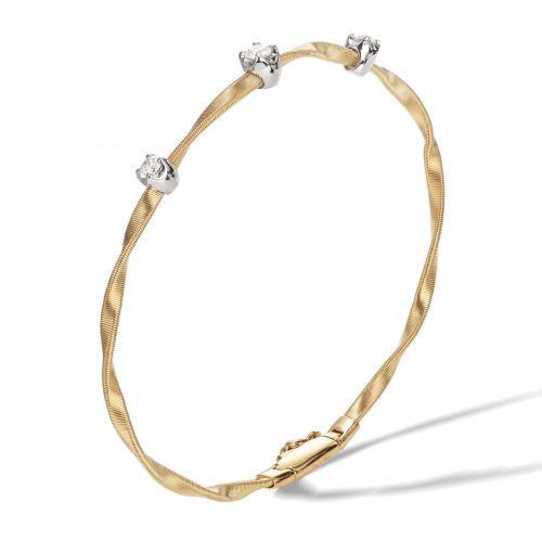 Marco Bicego Armband Gold mit Diamanten Marrakech Couture Armreif BG337 B1 YW