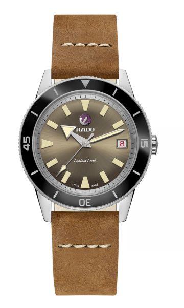 Rado Captain Cook Automatic R32500315 Leder-Armband