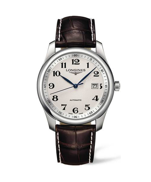 The Longines Master Collection Automatik Herrenuhr 40mm mit weißem Zifferblatt L2.793.4.78.3