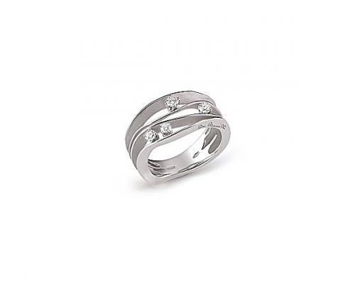 Annamaria Cammilli Ring mit Diamanten Weißgold White Ice Dune GAN0778W | Uhren-Lounge