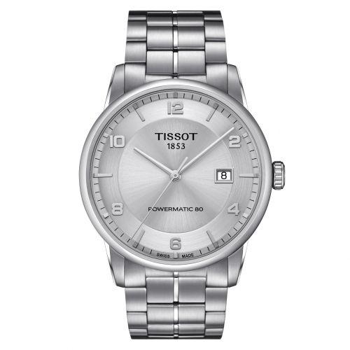 Tissot Luxury Powermatic 80 Automatic Gent Herren 41mm Silber Edelstahl-Armband T086.407.11.037.00 | Uhren-Lounge