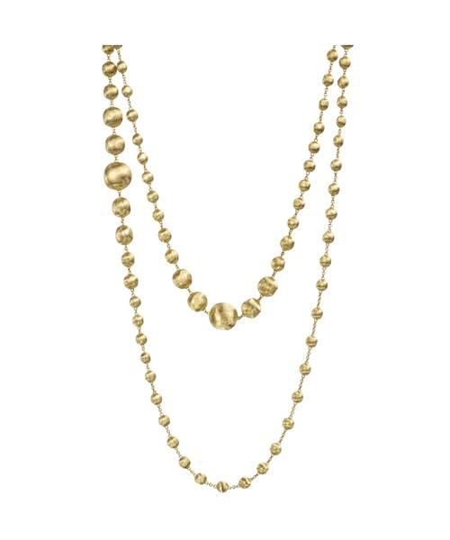 Marco Bicego Damen Halskette AFRICA 120cm aus 18kt Gelbgold CB1418
