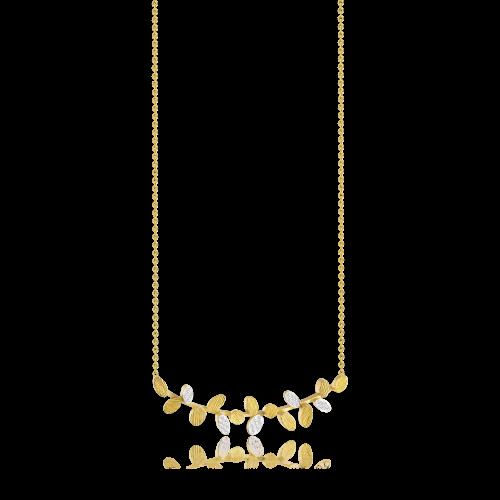 Luisa Rosas BE Halskette Gold mit Diamanten S LRBE128