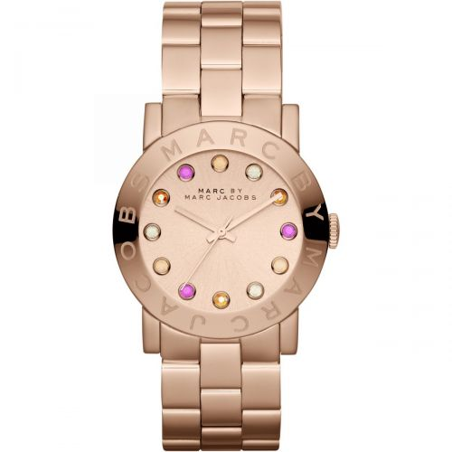 Marc Jacobs Amy Damenuhr Quarz Roségold MBM3216