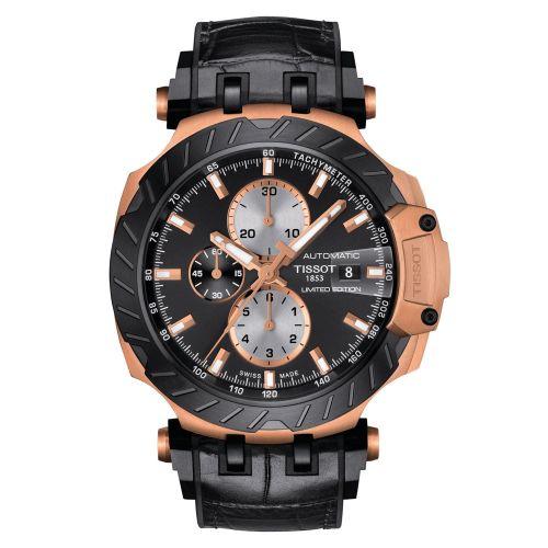 Tissot T-Race MotoGP Limited Edition Automatic Chronograph Herrenuhr 45mm Schwarz T115.427.37.051.00