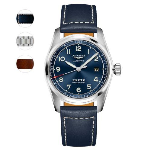 Longines Spirit Prestige Edition Blau 40mm Automatic Chronometer Herrenuhr L3.810.4.93.9 | Uhren-Lounge