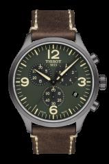 TISSOT CHRONO XL (T116.617.36.097.00) Herren Lederarmband Chronograph