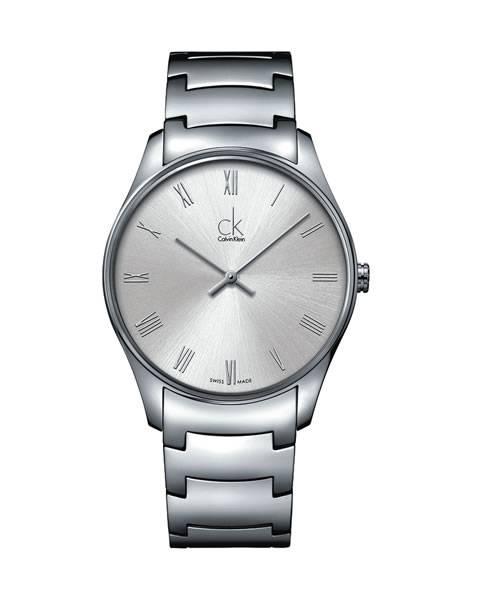 Calvin Klein Uhr Herren 38mm Silber Edelstahl-Armband classic K4D2114Z   Uhren-Lounge