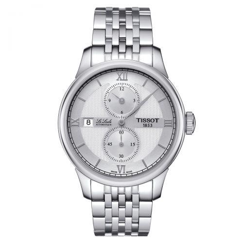 Tissot Le Locle Automatique Regulateur Herrenuhr 39mm Silber Edelstahl-Armband T006.428.11.038.02