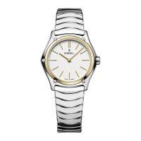 Ebel Sport Classic Lady polished Damenuhr Bicolor Silber Gold Quarz 29mm 1216449A | Uhren-Lounge