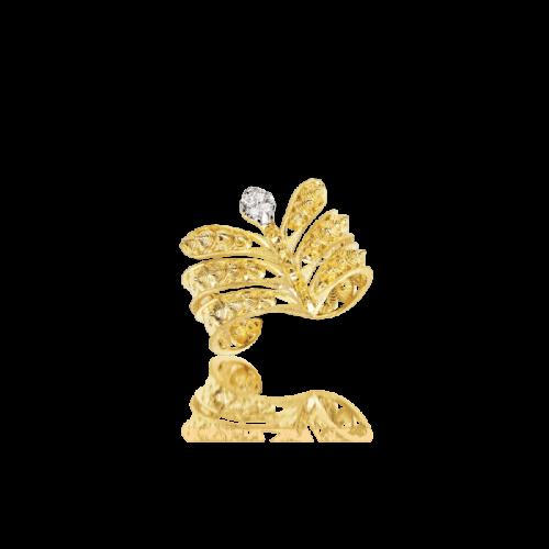 Luisa Rosas Luz Ring Gold mit Diamanten LRLZ207CR