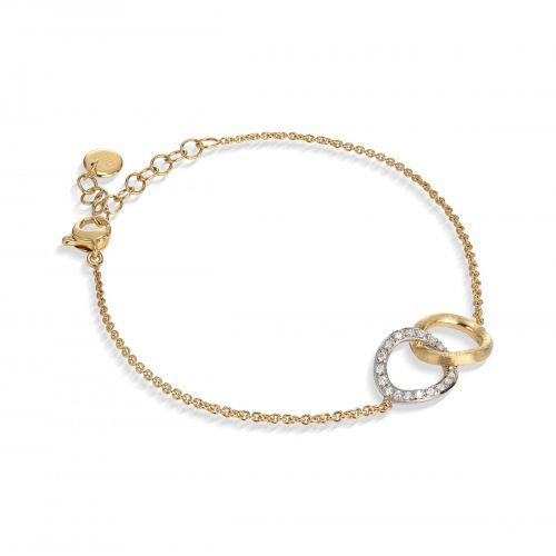 Marco Bicego Armband Jaipur Link Gold mit Diamanten BB1803 B YW