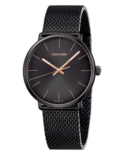 CALVIN KLEIN Uhr Herren Schwarz 40mm High Noon K8M21421