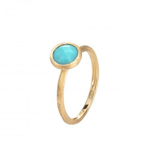 Marco Bicego Ring mit blauem Türkis Edelstein Jaipur Color AB471-TU01