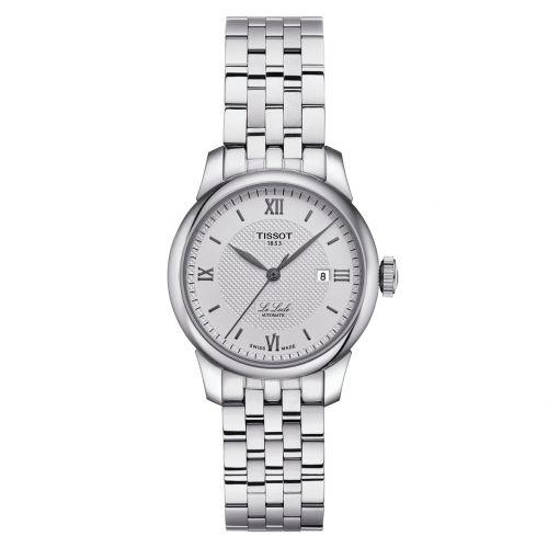 Tissot Le Locle Automatic Lady Silber Edelstahl-Armband 29mm Damenuhr T006.207.11.038.00 | Uhren-Lounge