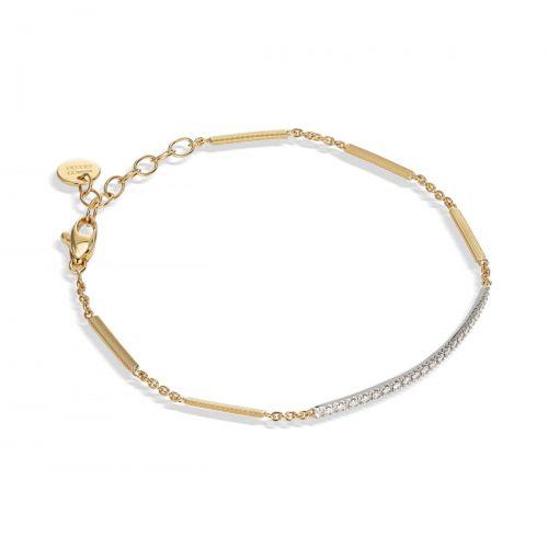 Marco Bicego Goa Armband Gold mit Diamanten Pavé BG713 B YW