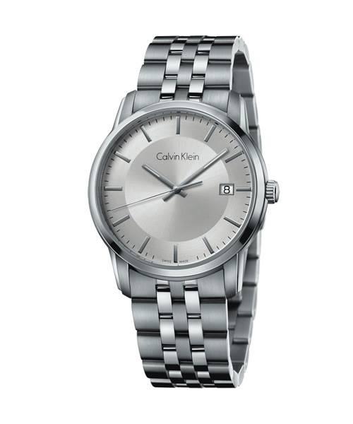 Calvin Klein Uhr Herren silber Quarz 42mm Edelstahl-Armband infinite K5S31146 | Uhren-Lounge